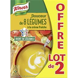 Knorr Douceur de 8 légumes à la crème fraîche