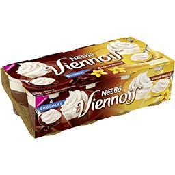 Le Viennois - Dessert lacté chocolat et saveur vanille