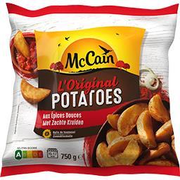Mc Cain McCain L'Original Potatoes aux épices douces le sachet de 750 g