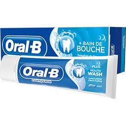 Dentifrice + bain de bouche Fraîcheur et propreté