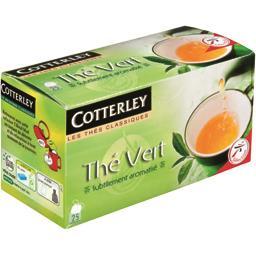 Thé vert subtilement aromatisé