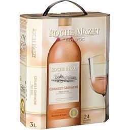 Vin de pays d'Oc Cinsault Grenache, vin rosé