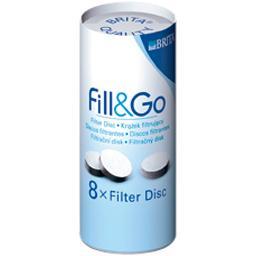 Disques filtrants pour bouteille Fill & Go