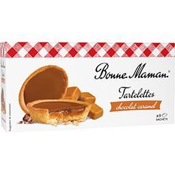 Bonne Maman Bonne Maman Tartelettes chocolat caramel le paquet de 135 g