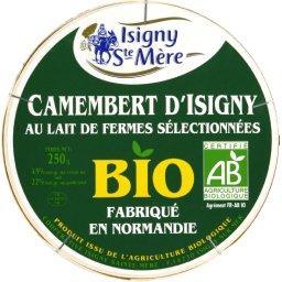 Camembert d'Isigny bio moulé à la louche