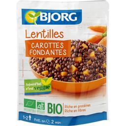 Bjorg Lentilles carottes fondantes BIO
