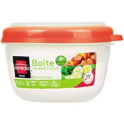Boite hermétique ronde rose 0,25 L