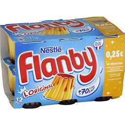 Flanby - Flan vanille nappé caramel
