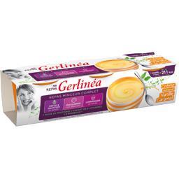 Gerlinéa Gerlinéa Mon Repas - Crème Repas Minceur saveur vanille caramel les 3 pots de 210 g