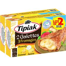 Galettes 3 fromages