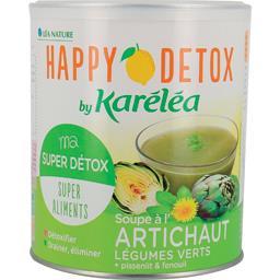 Soupe Détox aux légumes verts et à l'artichaut