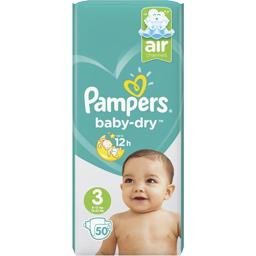 Baby-dry - taille 3 6-10 kg kg - couches