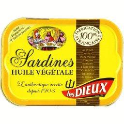 Sardines à l'huile végétale, recette traditionnelle
