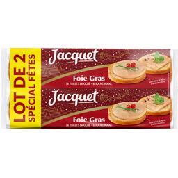 Toasts brioché pour foie gras