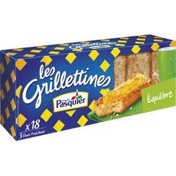 Les Grilletines - Petites tartines Equilibre sans su...