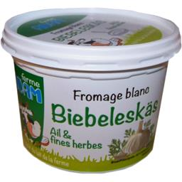 Fromage blanc ail & fines herbes