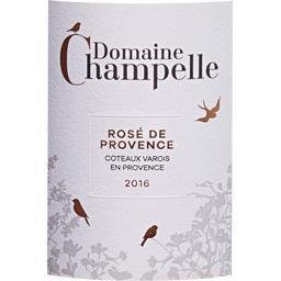 Coteaux Varois En Provence vin Rosé 2017