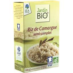 Riz de Camargue semi-complet bio