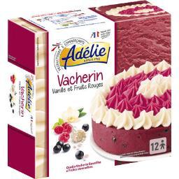 Vacherin vanille et fruits rouges