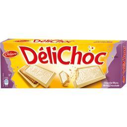 Délichoc - Biscuits chocolat blanc