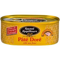 Pâté doré, pâté de campagne traditionnel rôti au fou...