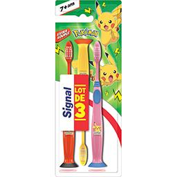 Brosse à dents Pokémon extra souple 7+ ans