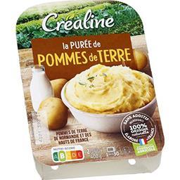 Créaline Créaline La Purée de Pommes de Terre la barquette de 400 g