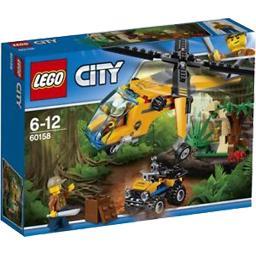 City - L'Hélicoptère Cargo de la Jungle 6-12
