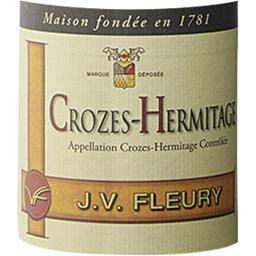 Crozes Hermitage JV Fleury vin Rouge 2016