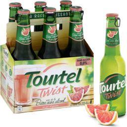 Bière sans alcool Twist au jus d'agrume