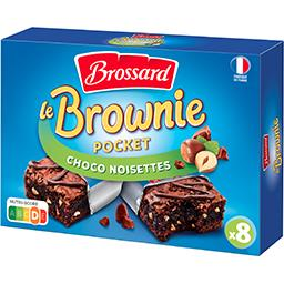Le Brownie Pocket choco noisettes