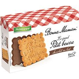 Biscuits Le grand Petit Beurre, chocolat au lait
