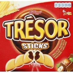 Trésor - Céréales Sticks chocolat noisette