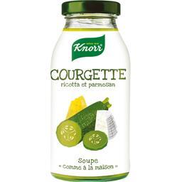 Knorr Soupe courgette ricotta et parmesan