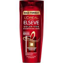 L'Oréal Elsève Color-Vive - Shampooing soin cheveux colorés ou méchés le flacon de 400 ml
