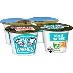 Yaourts Le Brassé Nature BIO