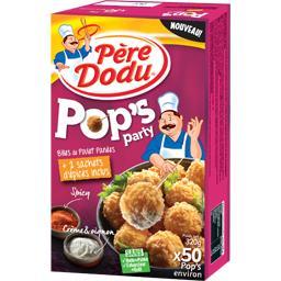 Billes de poulet Pop's Party panées