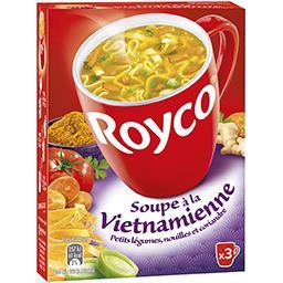 Royco Royco Soupe à la vietnamienne petits légumes, nouilles & coriandre les 3 sachets de 20 cl
