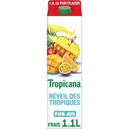 Pure Premium - Jus de 5 fruits Réveil des Tropiques 100% pur fruit pressé