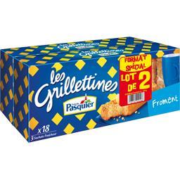 Les Grilletines - Petites tartines grillées au frome...