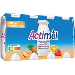 Actimel - Lait fermenté à boire goût multifruits
