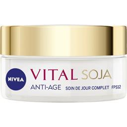 Visage - Soin de jour Vital anti-âge complet au soja...