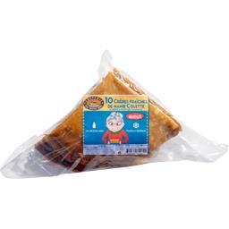 Méné bré Crêpes fraîches de mamie colette Le sachet de 10 - 533 gr