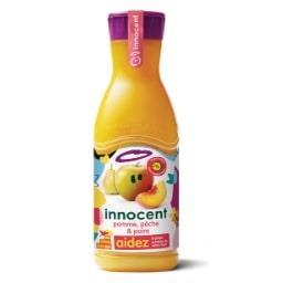 Innocent Innocent Jus pomme, pêche & poire la bouteille de 900 ml
