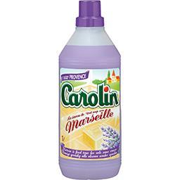 Carolin Carolin Nettoyant sol au savon de Marseille fraîcheur Provence le flacon de 1 l