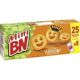 Mini biscuits à la pulpe d'abricot