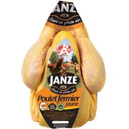 Poulet fermier de Janzé jaune Label Rouge