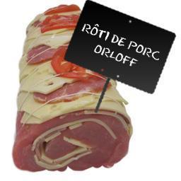 Rôti filet de PORC façon Orloff