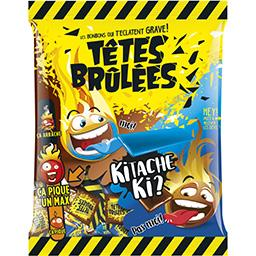 Têtes Brûlées - Bonbons Barres goûts framboise Kitac...