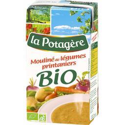 La Potagère La Potagère Bio - Mouliné de légumes printaniers la brique de 1 l